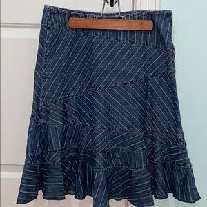 DKNY, Jean skirt, size 2